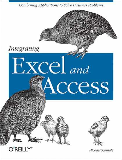 O'Reilly Books - Integrating Excel and Access