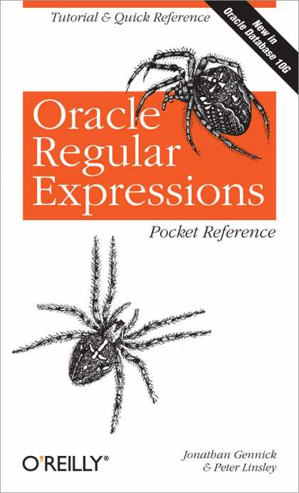 O'Reilly Books - Oracle Regular Expressions Pocket Reference