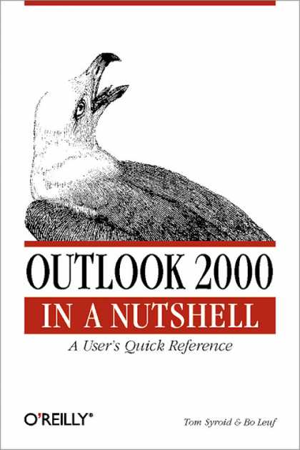 O'Reilly Books - Outlook 2000 in a Nutshell