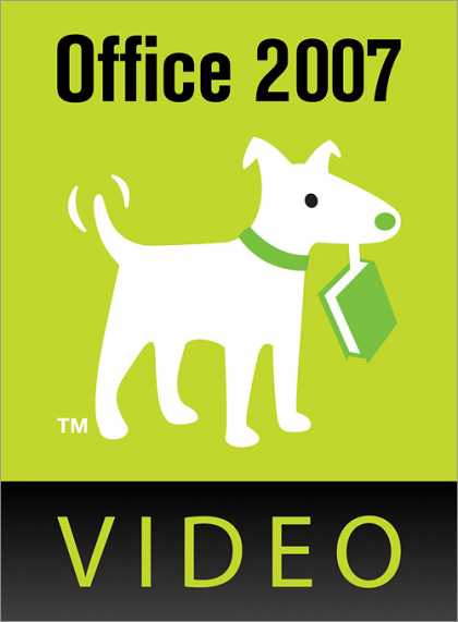 O'Reilly Books - Office 2007: The Missing Manual Video