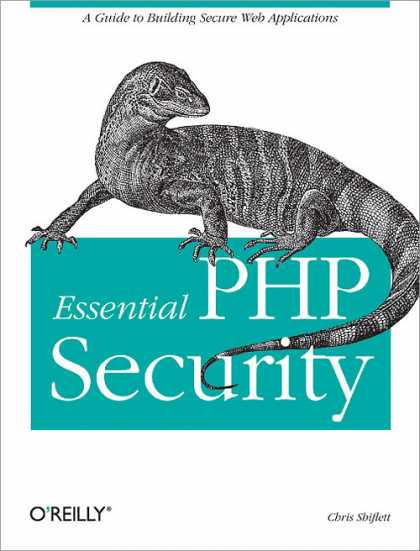 O'Reilly Books - Essential PHP Security