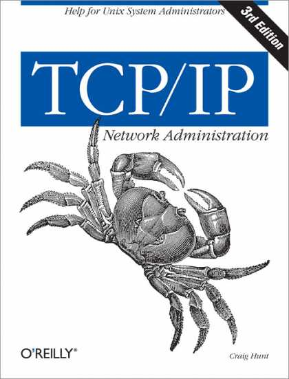 O'Reilly Books - TCP/IP Network Administration, Third Edition