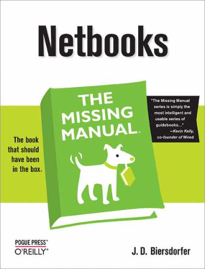 O'Reilly Books - Netbooks: The Missing Manual