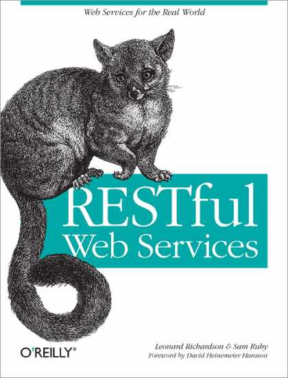 O'Reilly Books - RESTful Web Services