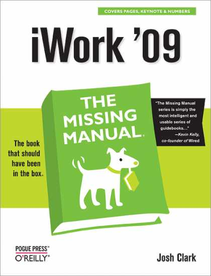 O'Reilly Books - iWork '09: The Missing Manual