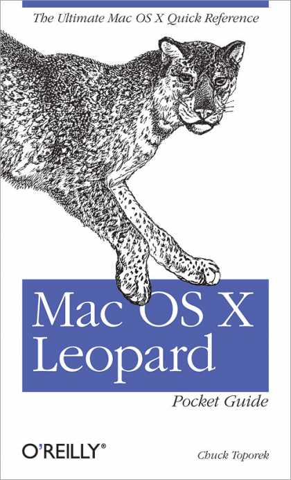 O'Reilly Books - Mac OS X Leopard Pocket Guide