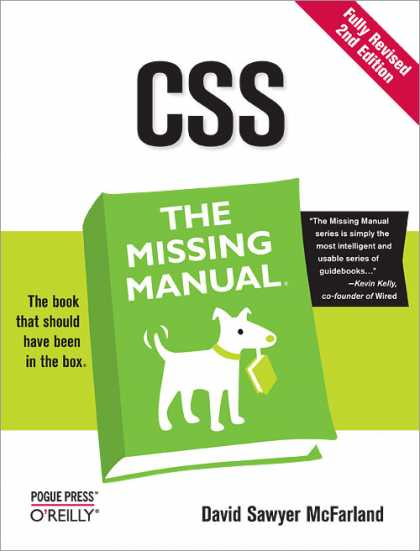 O'Reilly Books - CSS: The Missing Manual, Second Edition