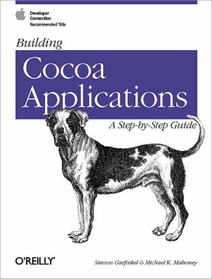 O'Reilly Books - Building Cocoa Applications: A Step by Step Guide