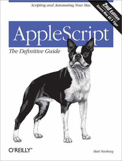O'Reilly Books - AppleScript: The Definitive Guide, Second Edition