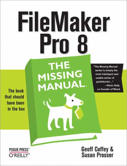 O'Reilly Books - FileMaker Pro 8: The Missing Manual