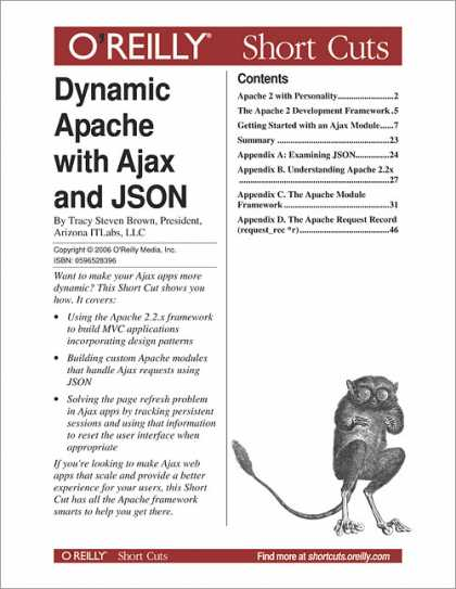 O'Reilly Books - Dynamic Apache with Ajax and JSON