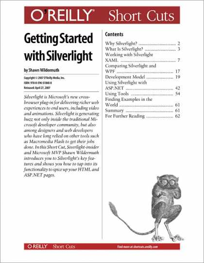 O'Reilly Books - Getting Started with Silverlight