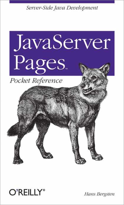 O'Reilly Books - JavaServer Pages Pocket Reference