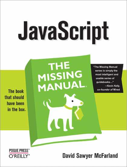 O'Reilly Books - JavaScript: The Missing Manual