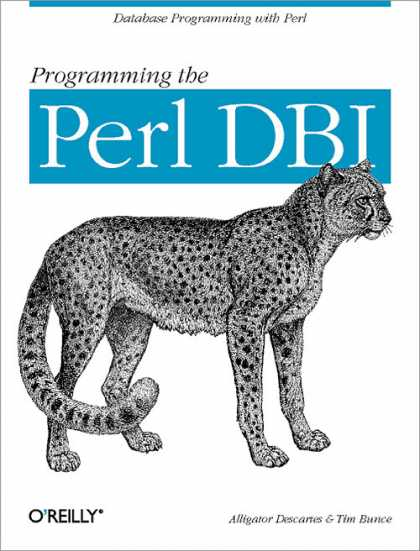 O'Reilly Books - Programming the Perl DBI
