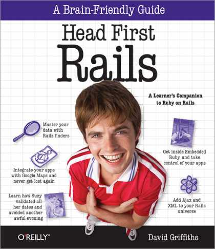 Reilly Books on Reilly Books   Head First Rails