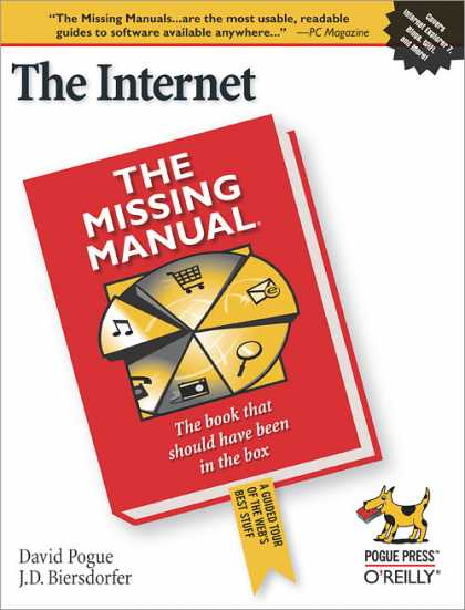 O'Reilly Books - The Internet: The Missing Manual