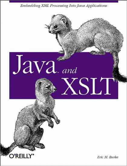 O'Reilly Books - Java and XSLT