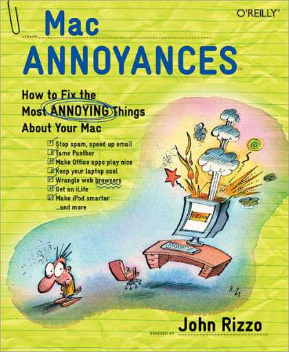 O'Reilly Books - Mac Annoyances