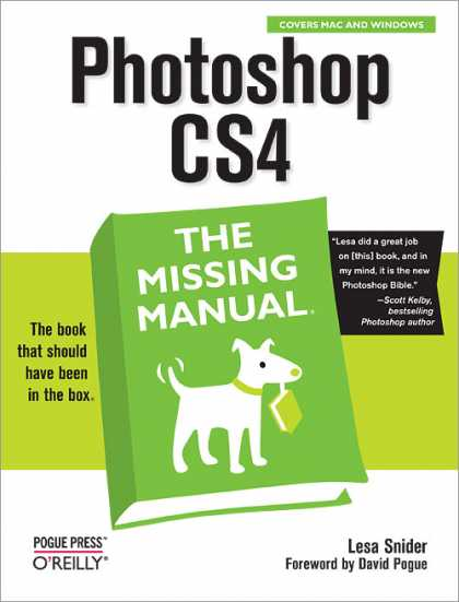 O'Reilly Books - Photoshop CS4: The Missing Manual
