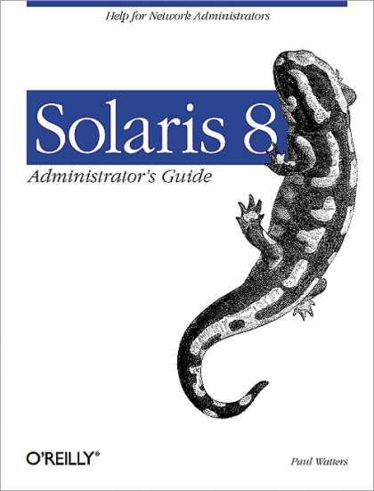 O'Reilly Books - Solaris 8 Administrator's Guide