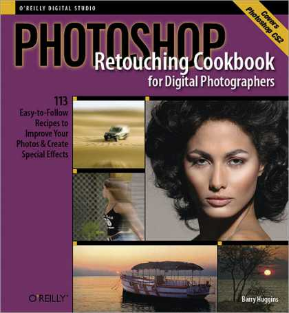 Reilly Books on Reilly Books   Photoshop Retouching Cookbook For Digital
