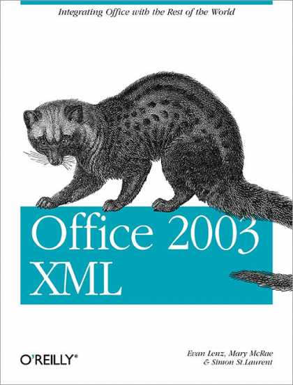 O'Reilly Books - Office 2003 XML