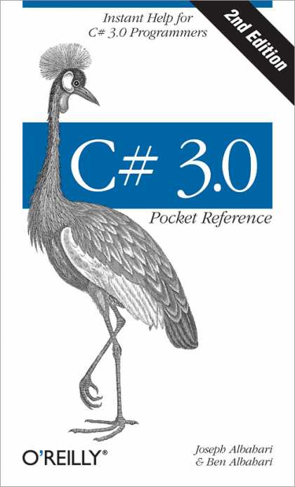 O'Reilly Books - C# 3.0 Pocket Reference, Second Edition