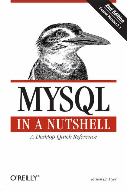 O'Reilly Books - MySQL in a Nutshell, Second Edition