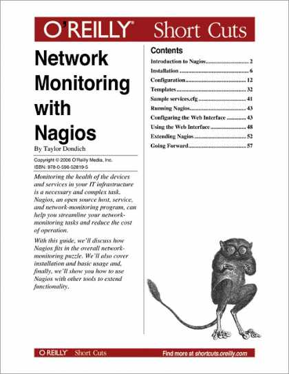 O'Reilly Books - Network Monitoring with Nagios