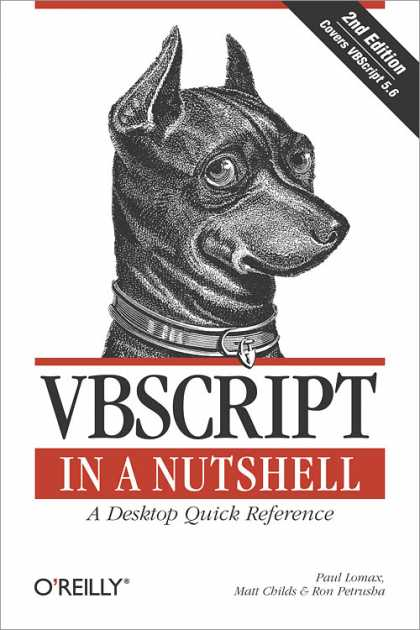 O'Reilly Books - VBScript in a Nutshell, Second Edition