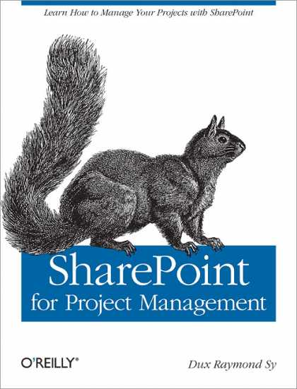 O'Reilly Books - SharePoint for Project Management