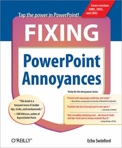 O'Reilly Books - Fixing PowerPoint Annoyances