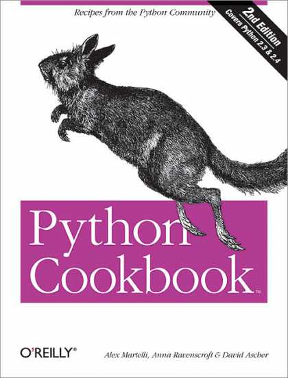 O'Reilly Books - Python Cookbook, Second Edition