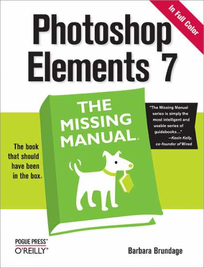 O'Reilly Books - Photoshop Elements 7: The Missing Manual
