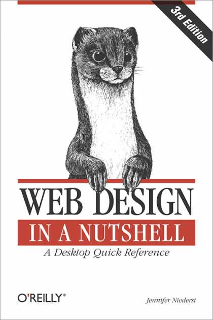 O'Reilly Books - Web Design in a Nutshell, Third Edition