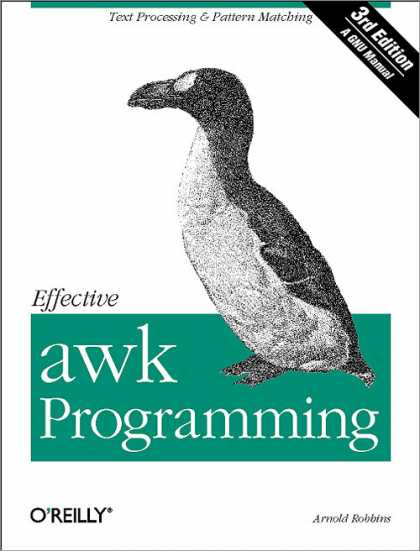 O'Reilly Books - Effective awk Programming, Third Edition