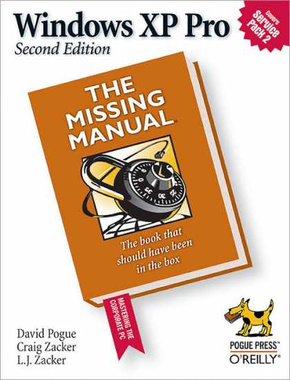 O'Reilly Books - Windows XP Pro: The Missing Manual, Second Edition