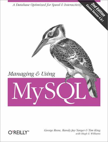 O'Reilly Books - Managing & Using MySQL, Second Edition