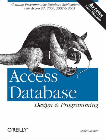 O'Reilly Books - Access Database Design & Programming, Third Edition