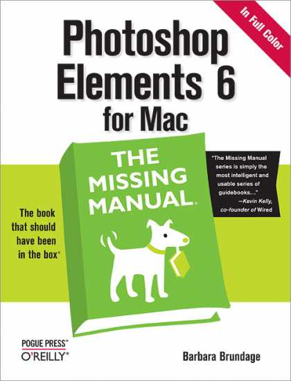 O'Reilly Books - Photoshop Elements 6 for Mac: The Missing Manual