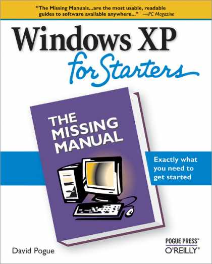 O'Reilly Books - Windows XP for Starters: The Missing Manual