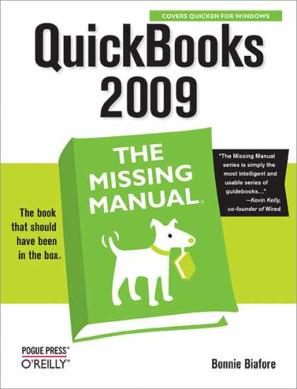 O'Reilly Books - QuickBooks 2009: The Missing Manual