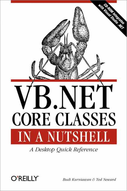 O'Reilly Books - VB.NET Core Classes in a Nutshell