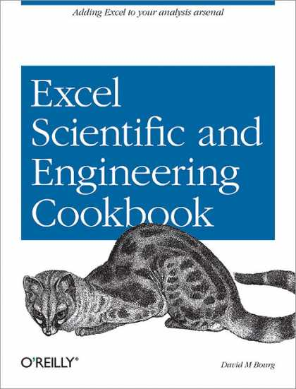 O'Reilly Books - Excel Scientific and Engineering Cookbook