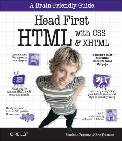 O'Reilly Books - Head First HTML with CSS & XHTML