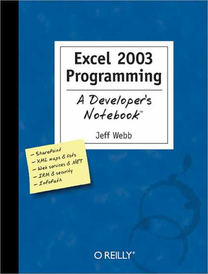O'Reilly Books - Excel 2003 Programming: A Developer's Notebook