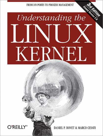 O'Reilly Books - Understanding the Linux Kernel, Third Edition