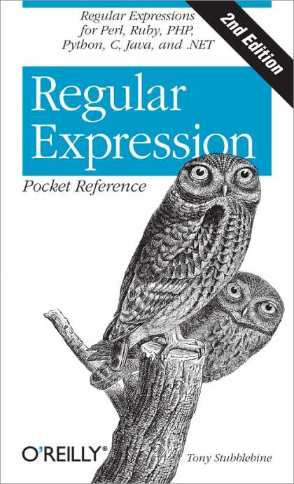 O'Reilly Books - Regular Expression Pocket Reference, Second Edition