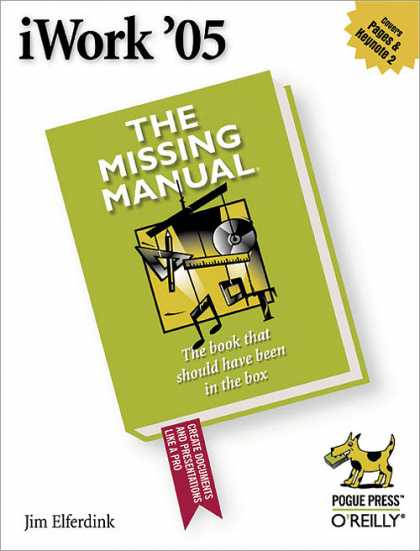 O'Reilly Books - iWork '05: The Missing Manual